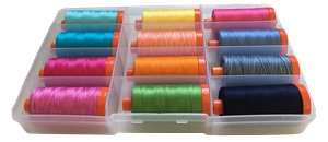 Fifi and Fido Aurifil Thread Collection